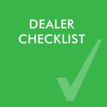 Dealer Checklist